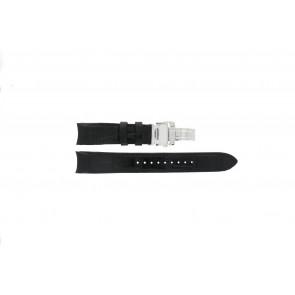 Seiko urrem SNA741P2 / 7T62-0GE0 Læder Sort 22mm + syning sort