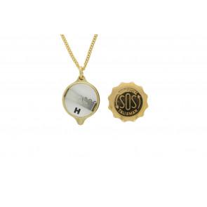 SOS talisman vedhæng med kæde (soshk)