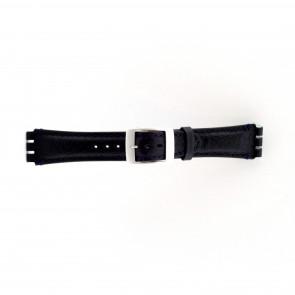 Urrem til Swatch mørkeblå 19mm PVK-SC14.05