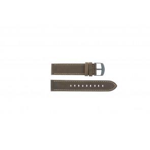 Timex læder brun rem 20mm T49905