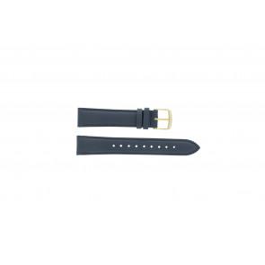 Timex urrem PW2P63400 Læder Blå mørk 18mm