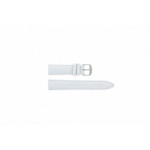 Timex urrem T2N345 Læder Hvid 20mm