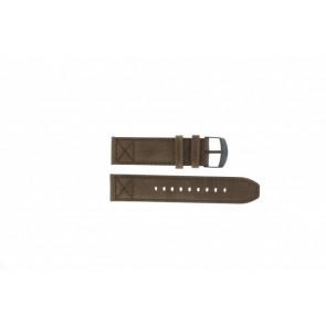 Timex læder brun rem 22mm T49986