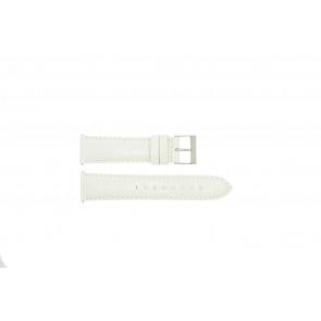 Guess urrem W85053G2 / W10558L1 Læder Hvid 22mm
